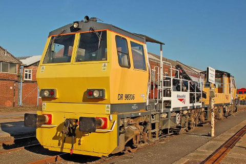 Network Rail Selling Grinder, Geismar MPV and Geismar Mini Trolley