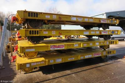 Thumbnail of Trailers Network Rail 003 (010827) & 004 (010828) Quattro 591 (010028) & 592 (010029)