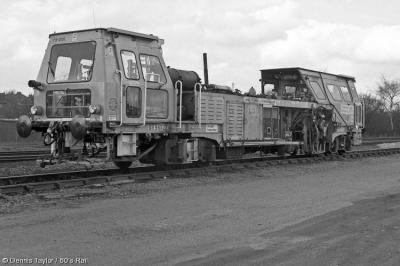 73208 at Beighton  by Dennis Taylor / 80's Rail
