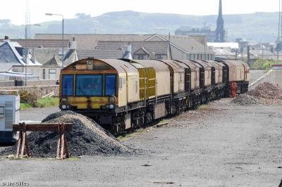 79231 - 79237 at Falkland Yard Ayr  by Jim Gillies