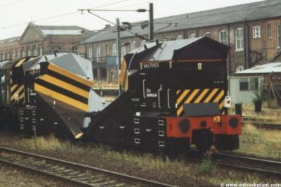 ADB 965240 & ADB 965208 at Doncaster  by Vince