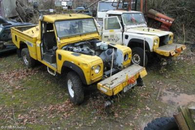 Thumbnail of ex Amey Landrovers - 976012 & 976008