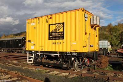 Photo of 99 85 9562 001-9 / SRS241 - Sperry Rail Ultrasonic Test Unit at Peak Rail - Rowsley