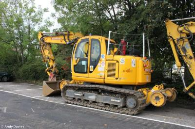 Thumbnail of 99709 911250-7 / RR133 Kobelco SK135 Rail Bug