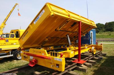 Thumbnail of Chieftain tipping trailer #RT1345 at Long Marston - Rail Live 2017