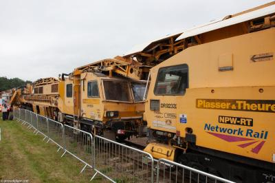 Photo of DR92332 & DR76502 at Long Marston - Rail Live 2019