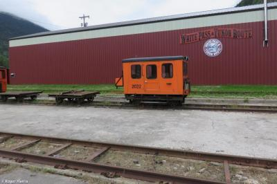 Photo of Fairmont Railcar 2022 at White Pass & Yukon Route Railway, Skagway, Alaska