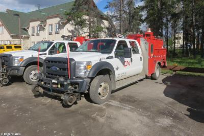 Photo of Ford F550 Super Duty Pick up RR - CN 173214 - BKX0457