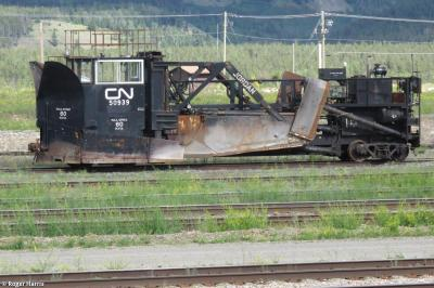 Photo of Jordan Spreader CN 50939 No. 1459 at Jasper, Alberta, Canada