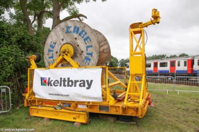 Photo of Keltbray Elec. (99709 010673 0) at Long Marston - Rail Live 2016