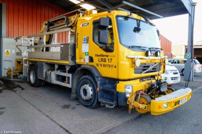 Photo of Keltbray Elec. PE13JWY (99709 917017 4) at Dunchurch - Keltbray depot
