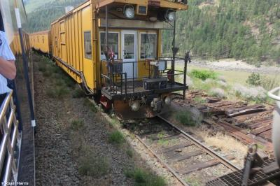 Thumbnail of LORAM RG309 Rail Grinder Fire Train (rear vehicle)