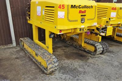 Photo of McCulloch Rail TRT45 at Toddington - McCulloch Rail Depot