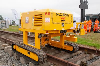 Photo of McCulloch TRT 66 at Long Marston - Rail Live 2019