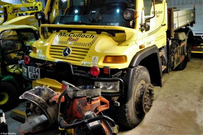 Photo of McCulloch Unimog 1 AE54GWM (99709 979074 0) at Loscoe - Elmec Solutions