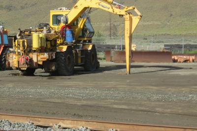Photo of Pettibone RR CN 456-46 at Kamloops North Yard, British Columbia, Canada