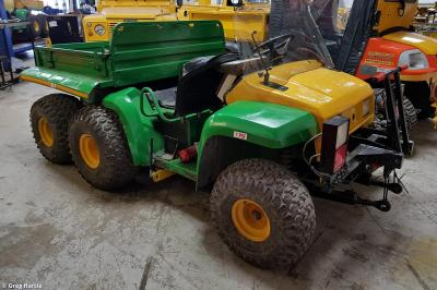 Unidentified John Deere Gator Buggy, possibly 975039 at Loscoe - Elmec Solutions  by Greg Hartle