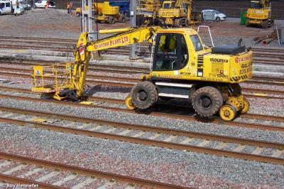Photo of Quattro Plant 138 (99709 940421 9) Komatsu PW150 Ultra at Lichfield Trent Valley