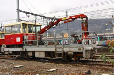 Thumbnail of SNCF Infra Crane Carrier CH 7-142