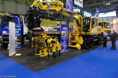 Photo of SES RR - WL108 at Birmingham NEC - Infrarail 2012