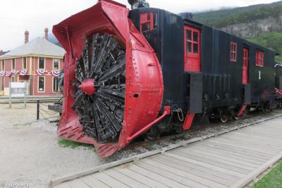 Thumbnail of Steam Rotary Snowplough No. 1
