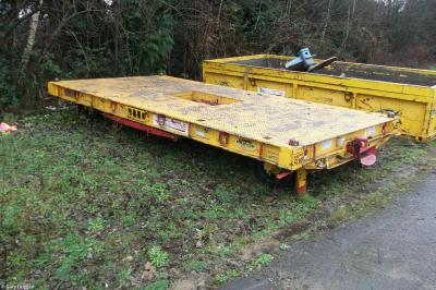 Photo of Van Elle VERT014 (99709 010877 7) at Cwmbran - Avondale Way north yard