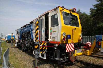 Thumbnail of VolkerRail tamper 99709 908009 2 at Long Marston - Rail Live 2017