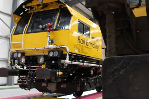 Network Rail Unveil Three New Rail Grinders