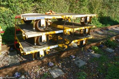 Thumbnail of Railway Drainage Trailers 011334, 011336 & 011328 (top to bottom)