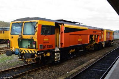 DR 73805 at Exeter TMD  by Matt Ryder