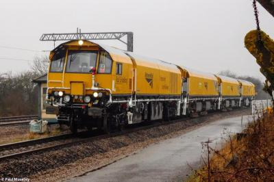 79304 + 79303 + 79302 + 79301 at Tuxford - Network Rail RIDC  by Paul Moseley