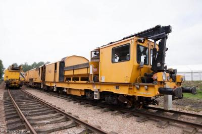 Photo of Network Rail DR80302 Stoneblower at Long Marston - Rail Live 2014