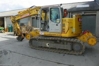 Photo of Readypower Case CX135SR Crawelrailer FR656 911043 6   at Thornton Cleveleys - Allan J Hargreaves Plant Engineers