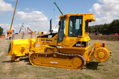Photo of APWebb dozer TS10 at Long Marston - National Plant Exhibition 2013