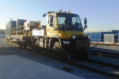 Thumbnail of Crossrail Unimog 1