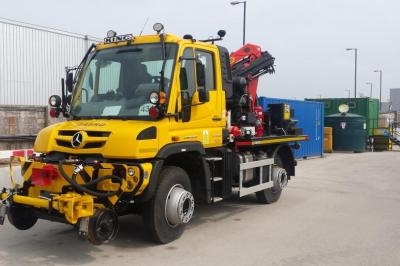 Thumbnail of Crossrail Unimog #240938