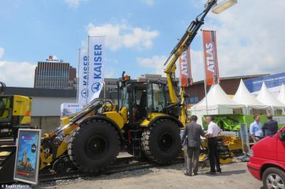 Photo of Huddig Tractor  042 of 2013 at Munster - iaf messe 2017