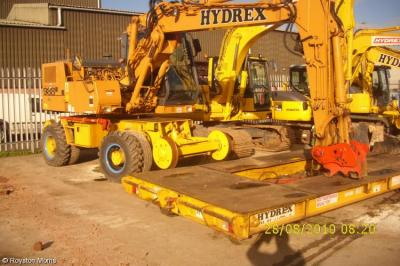 Hydrex RR - 3858 at Portishead - Hydrex depot  by Royston Morris