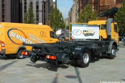 LH Access RRs - Demo vehicles at Manchester GMEX - Infrarail 2003  by Vince