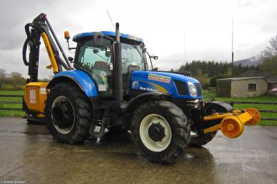 Photo of Moloney Agri New Holland T6080 99609 945015-6 at Clogheen - Moloney Agri