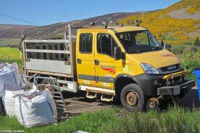Photo of Network Rail KX62AFN (99709 976064 4) at Helmsdale MDU