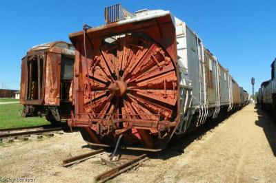 Thumbnail of UP Rotary Snow Plow & Tender #900075