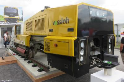 Thumbnail of Vossloh HSG High Speed Grinder (no ID)