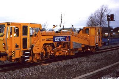 Volker Stevin tamper at Princes Risborough  by Simon Bendall